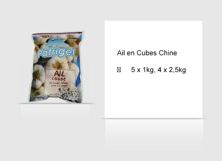 Ail en Cubes Chine
