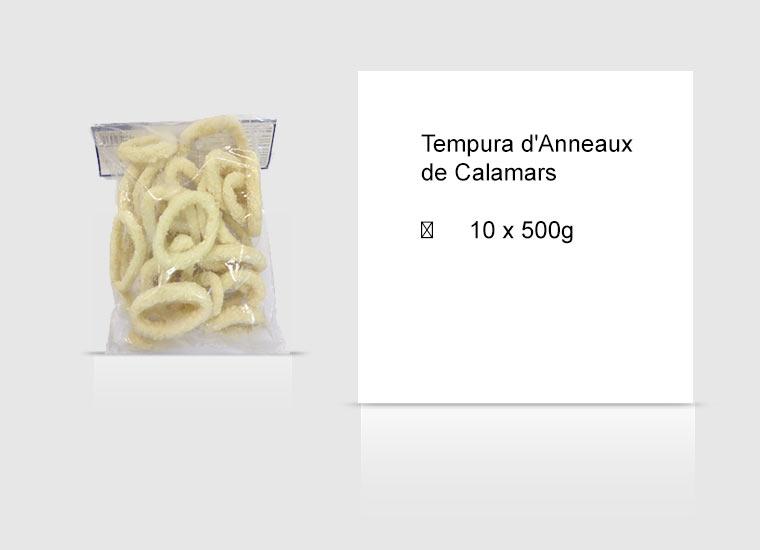 Tempura d'Anneaux de Calamars