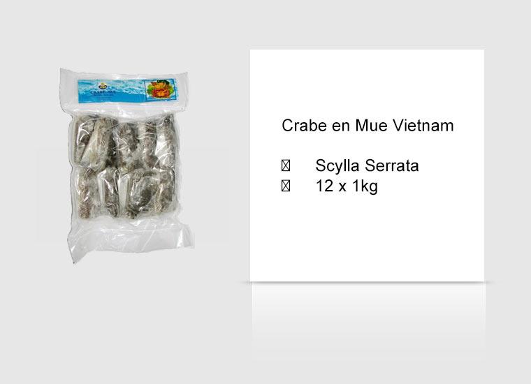 Crabe en Mue Vietnam
