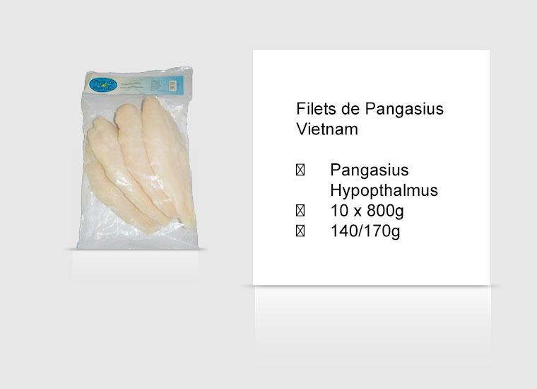 Filets de Pangasius Vietnam