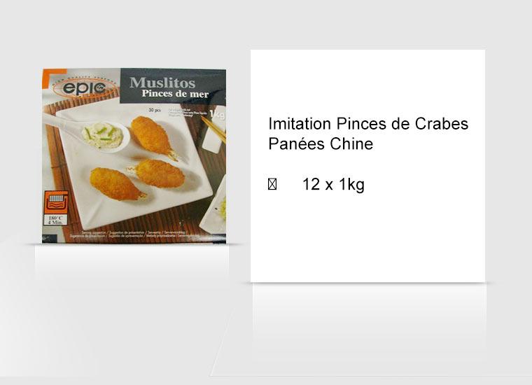 Imitation Pinces de Crabes Panées Chine
