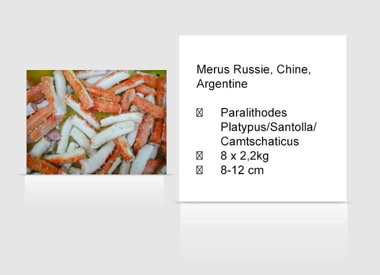 Merus Russie, Chine, Argentine