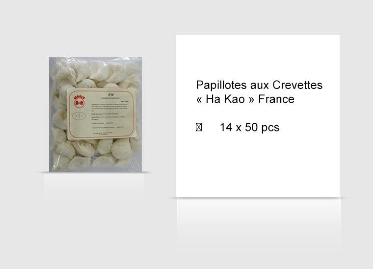 Papillotes aux Crevettes « Ha Kao » France