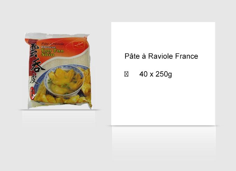 Pâte à Raviole France