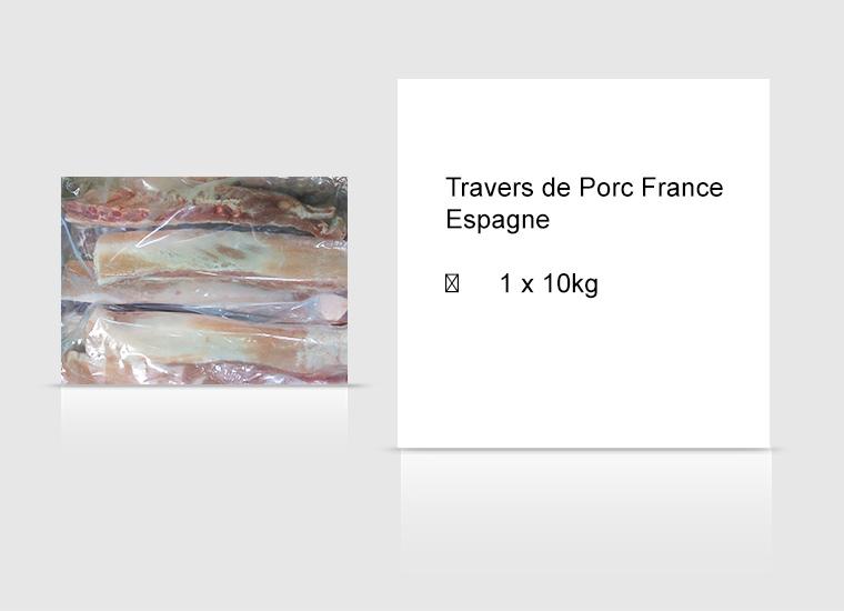 Travers de Porc France Espagne